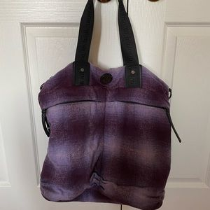 Lululemon Purple Shoulder Gym Bag